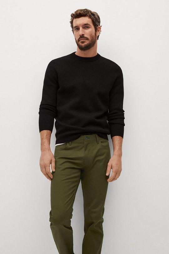 zlatohnědá Mango Man - Kalhoty PISA