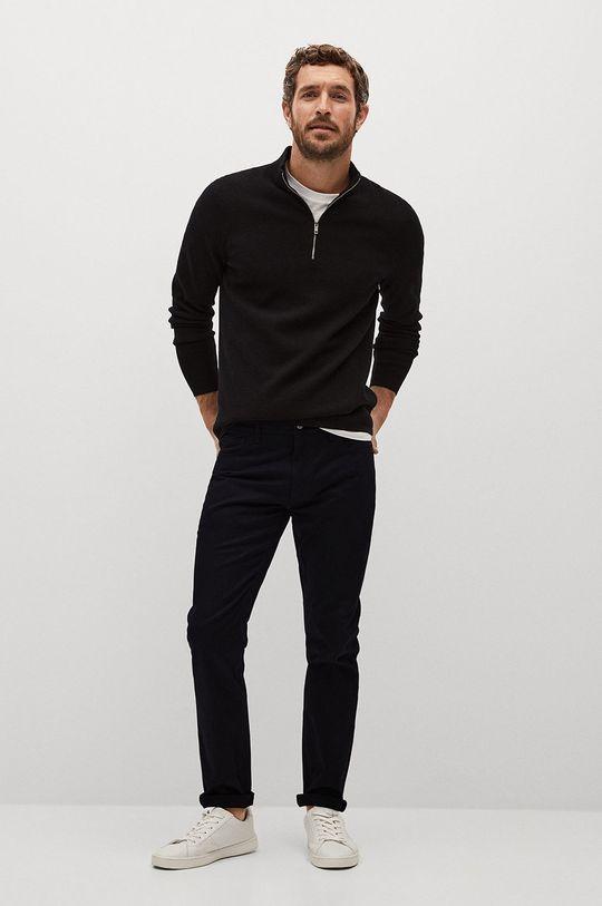 Mango Man - Kalhoty PISA černá