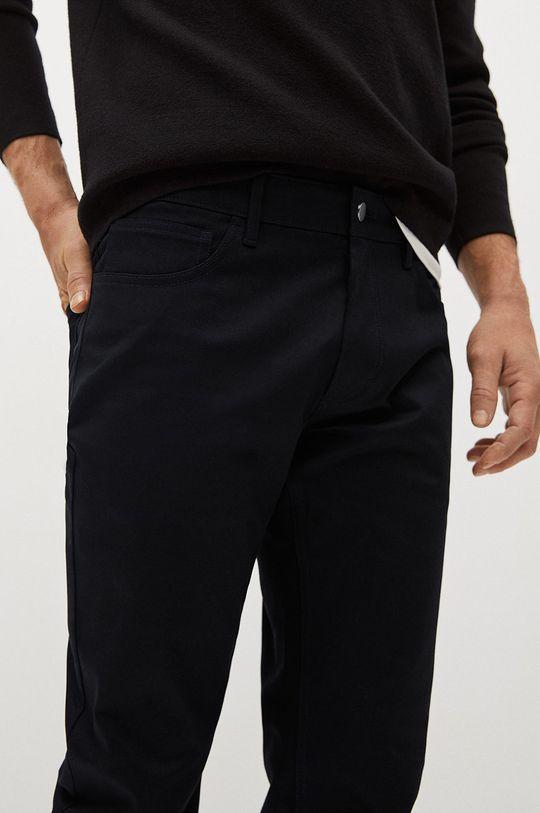 černá Mango Man - Kalhoty PISA