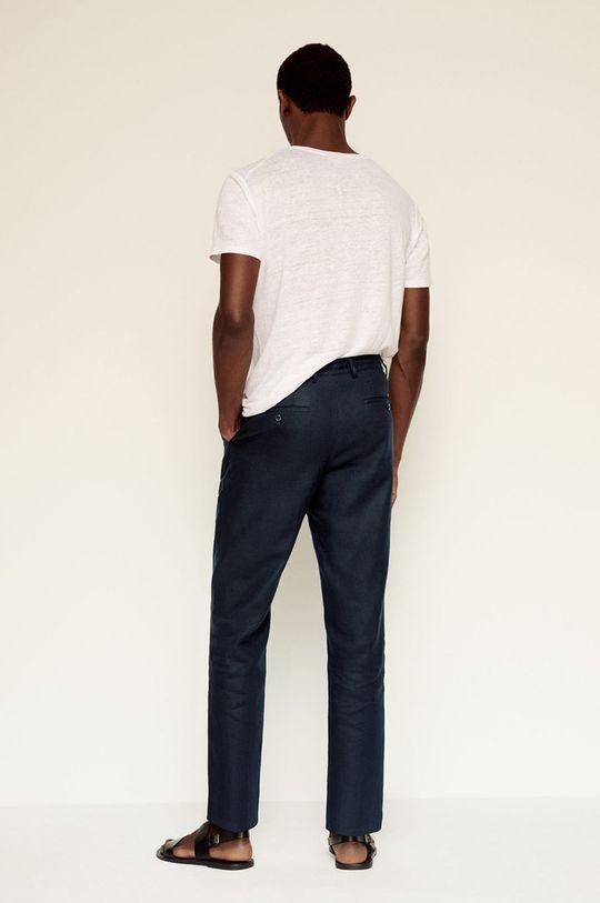 Mango Man - Spodnie Flak Materiał zasadniczy: 100 % Len, Podszewka kieszeni: 35 % Bawełna, 65 % Poliester