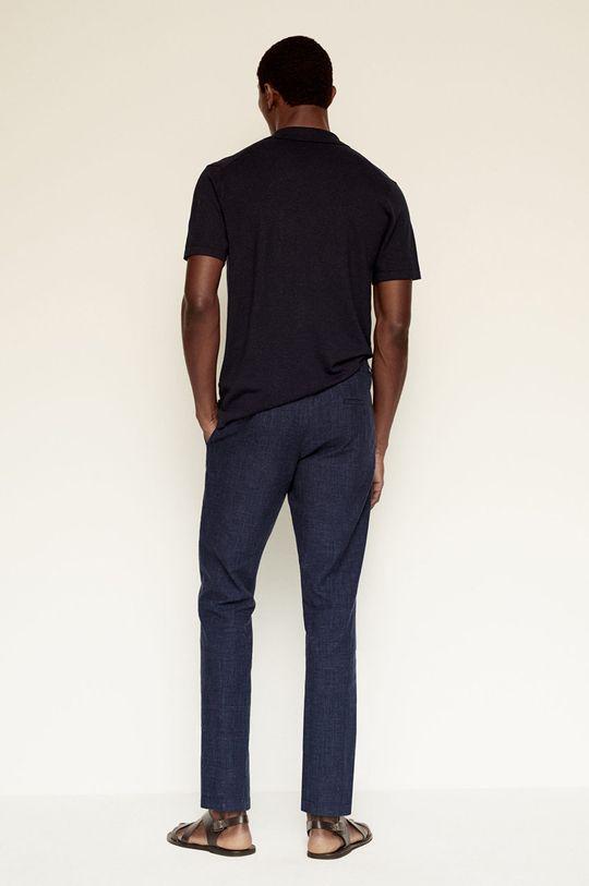 Mango Man - Spodnie ETNA Materiał zasadniczy: 100 % Len, Podszewka kieszeni: 52 % Bawełna, 48 % Poliester