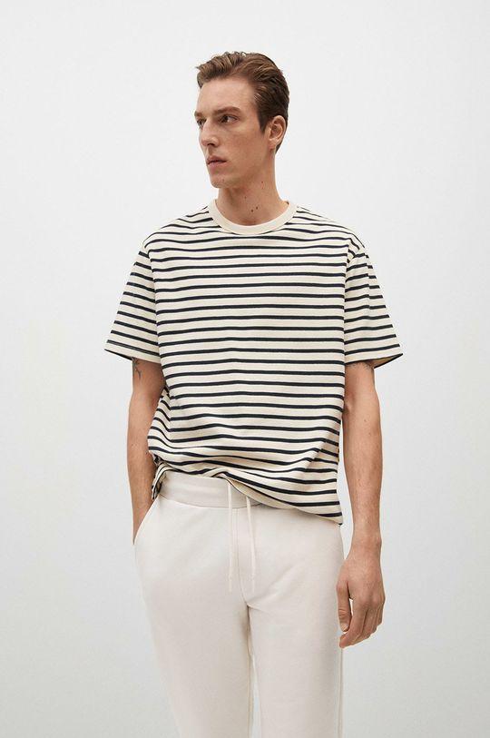 biały Mango Man - Spodnie Fait-I