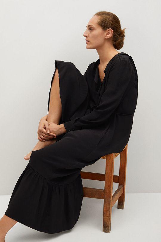 Mango - Sukienka NOIR czarny