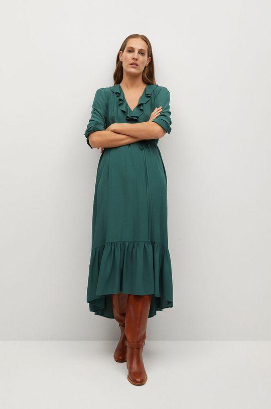 zielony Mango - Sukienka NOIR Damski