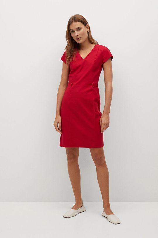 Mango - Šaty COFI7-N červená