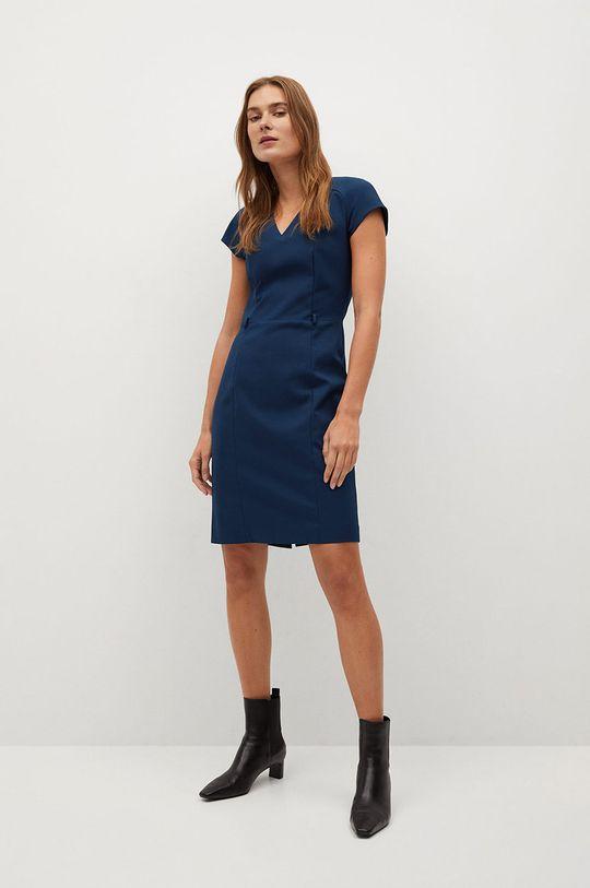 Mango - Šaty COFI7-N námořnická modř
