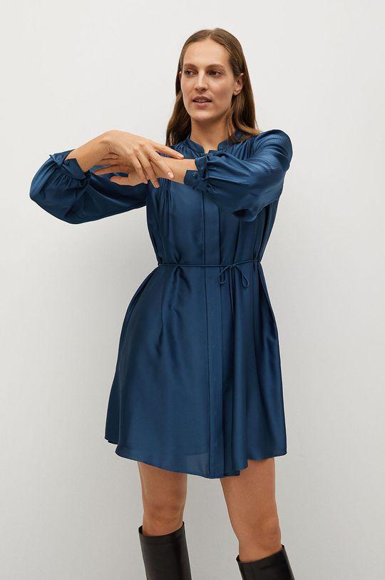 modrá Mango - Šaty ALBANI