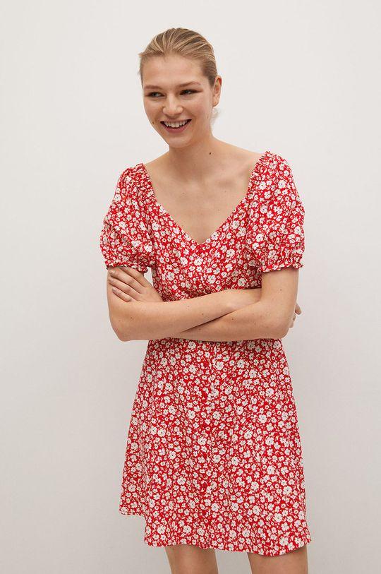 czerwony Mango - Sukienka Sere-L Damski