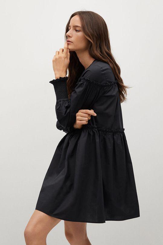 czarny Mango - Sukienka Lin Damski