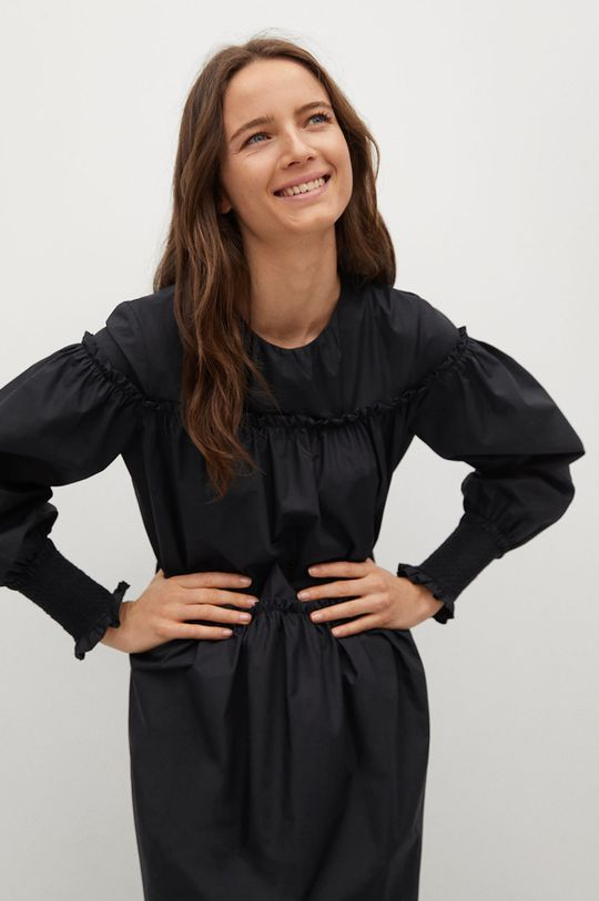 czarny Mango - Sukienka Lin