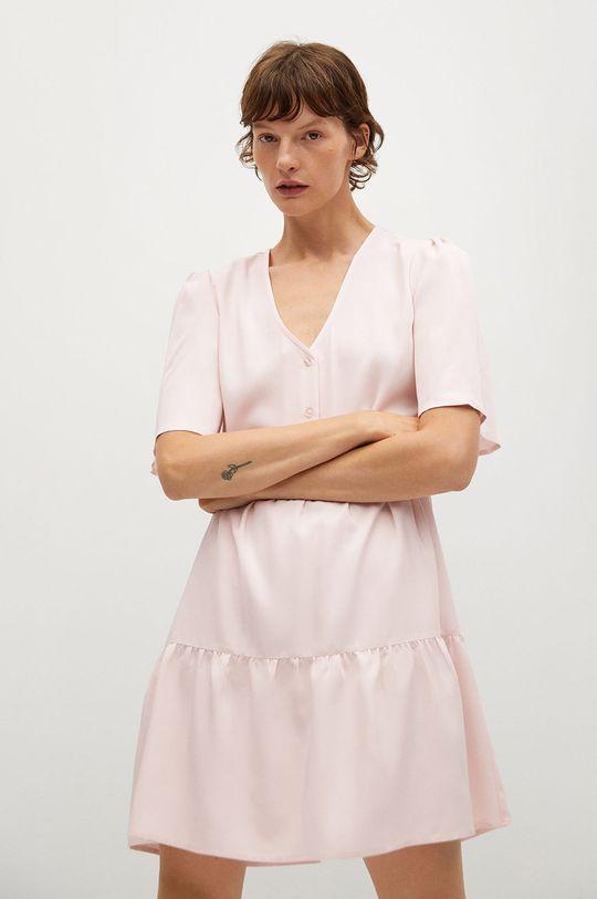 ružová Mango - Šaty Rita-L Dámsky