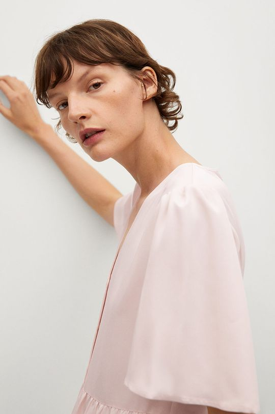 ružová Mango - Šaty Rita-L