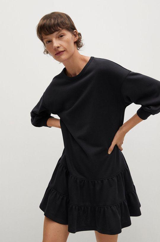 czarny Mango - Sukienka Rodri Damski