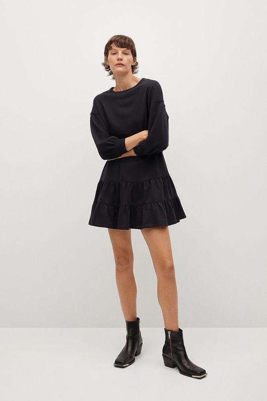Mango - Sukienka Rodri czarny