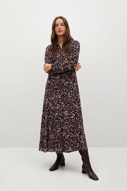Mango - Sukienka North 100 % Wiskoza