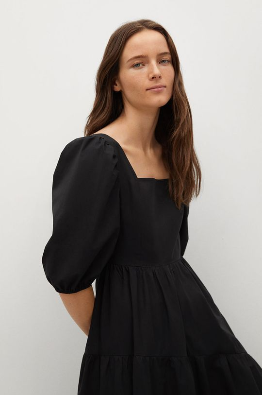 černá Mango - Šaty CRETA-L