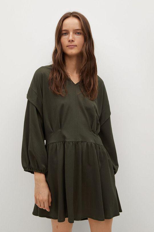 zielony Mango - Sukienka RIMEL Damski