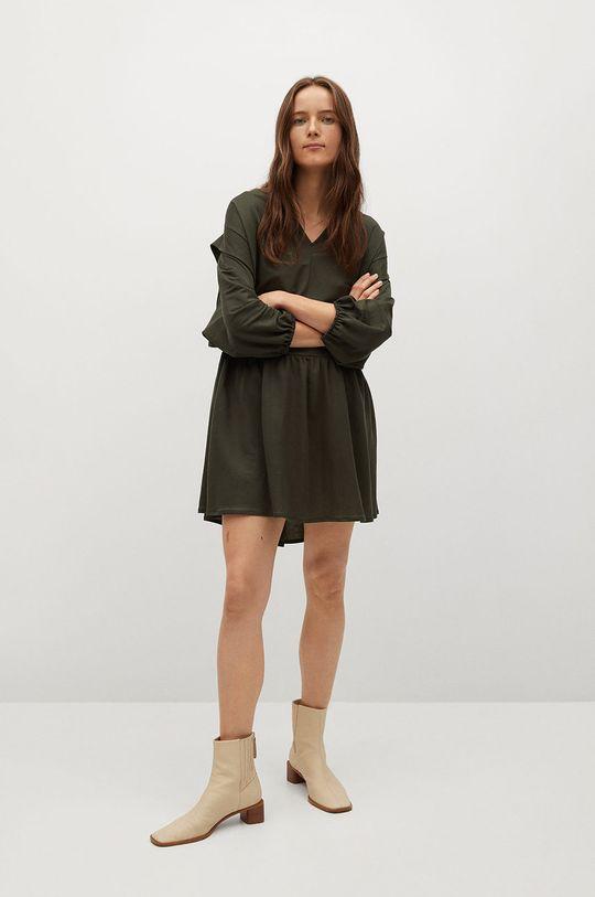Mango - Sukienka RIMEL zielony
