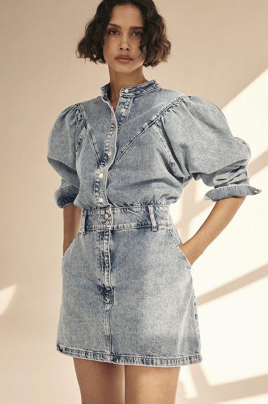 Mango - Džínové šaty LOLA