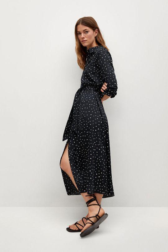 černá Mango - Šaty STAR Dámský