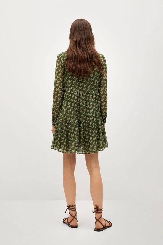 Mango - Šaty VIENA  Podšívka: 100% Polyester Hlavní materiál: 100% Polyester
