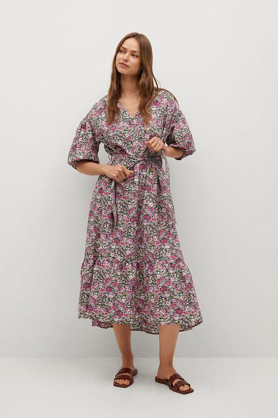 różowy Mango - Sukienka LINDA Damski