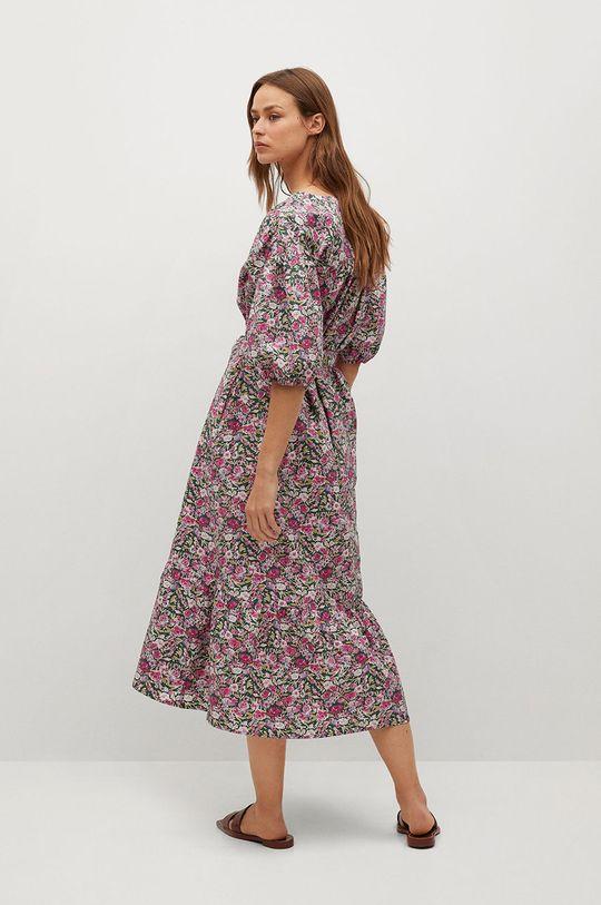 Mango - Sukienka LINDA różowy