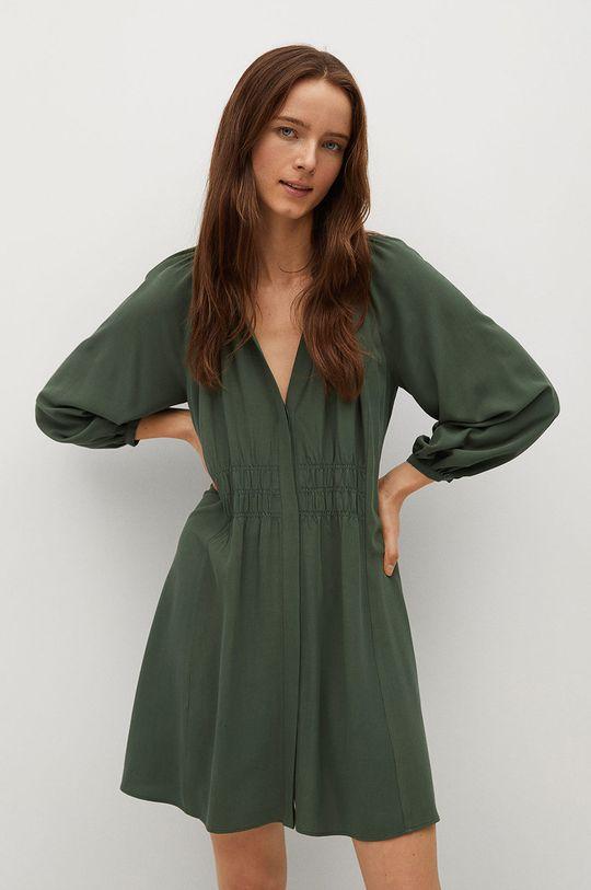 zielony Mango - Sukienka SMITHS Damski