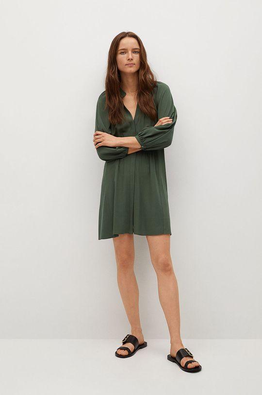 Mango - Sukienka SMITHS zielony