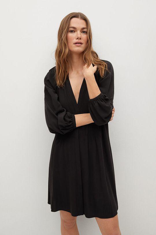 czarny Mango - Sukienka SMITHS Damski