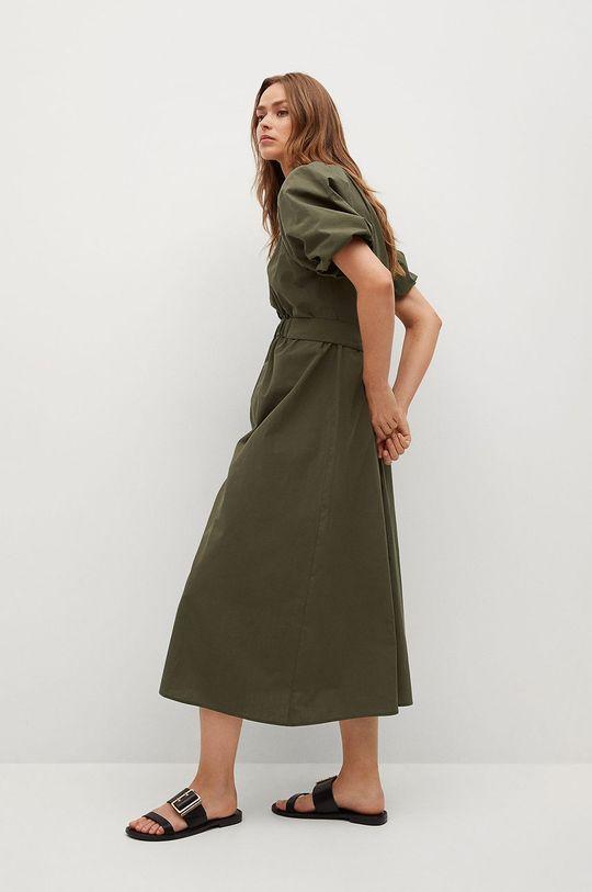 Mango - Sukienka OLIVA Podszewka: 100 % Bawełna, Materiał zasadniczy: 100 % Bawełna