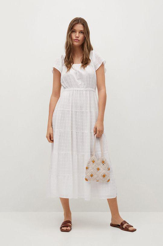 biały Mango - Sukienka LOLAZ Damski