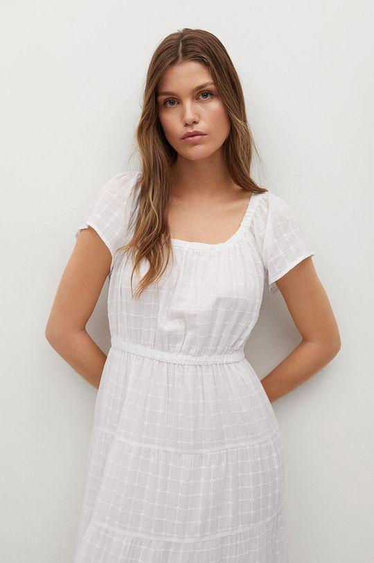 biały Mango - Sukienka LOLAZ