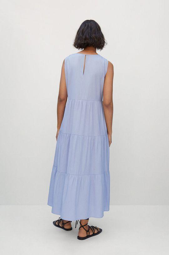 Mango - Šaty Abril  55% Recyklovaný polyester, 45% Viskóza