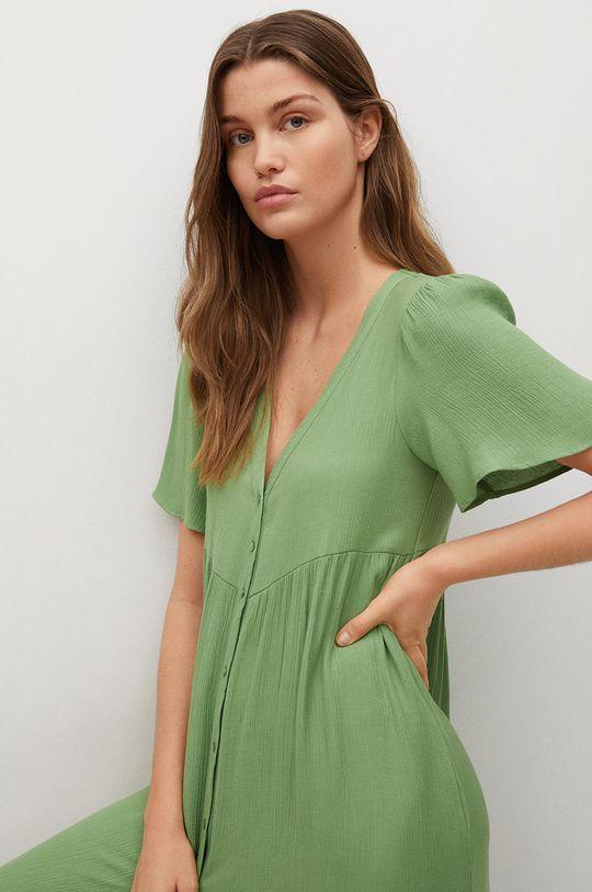 zielony Mango - Sukienka Sugar