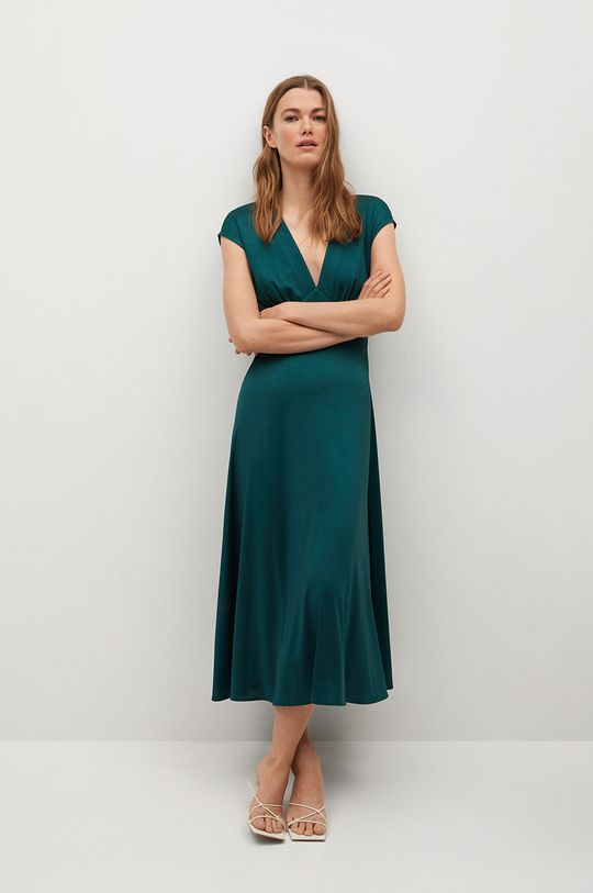 zelená Mango - Šaty Juliet Dámsky
