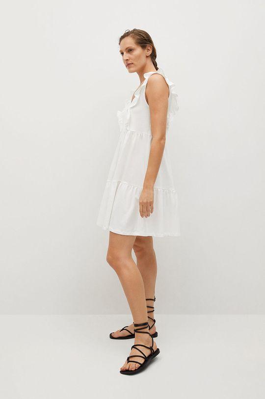 Mango - Šaty CARILE biela