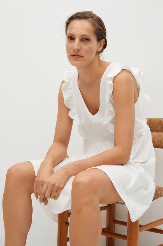 biela Mango - Šaty CARILE