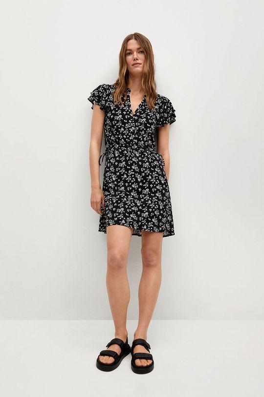 czarny Mango - Sukienka Gala8 Damski