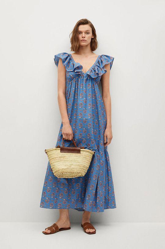 Mango - Sukienka Sunny Podszewka: 100 % Bawełna, Materiał zasadniczy: 100 % Bawełna organiczna