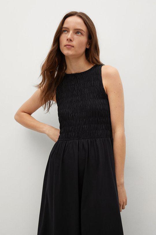 czarny Mango - Sukienka SANDI
