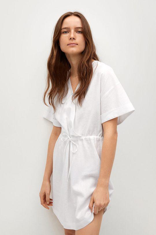 biały Mango - Sukienka Savana