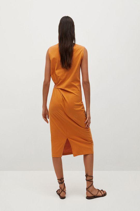 Mango - Sukienka Ferti Materiał zasadniczy: 100 % Bawełna organiczna, Wykończenie: 100 % Wiskoza