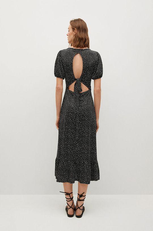 Mango - Sukienka Armanda czarny