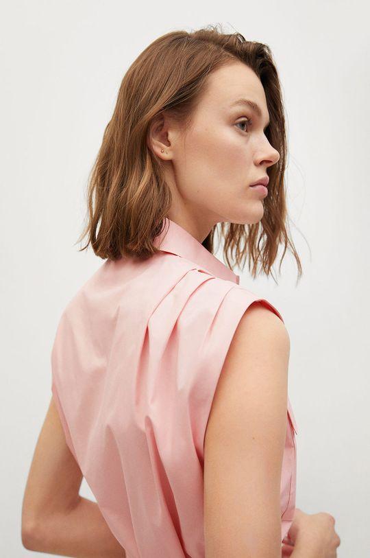 pastelowy różowy Mango - Sukienka Rita