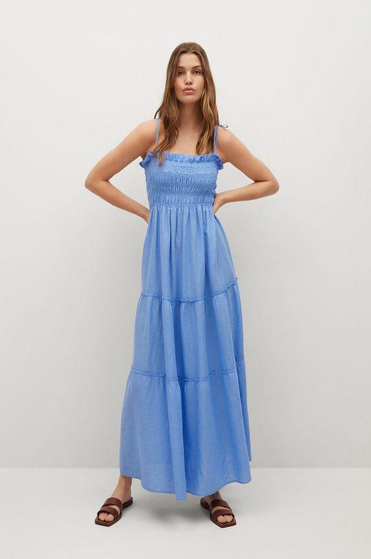 Mango - Šaty CELIA modrá