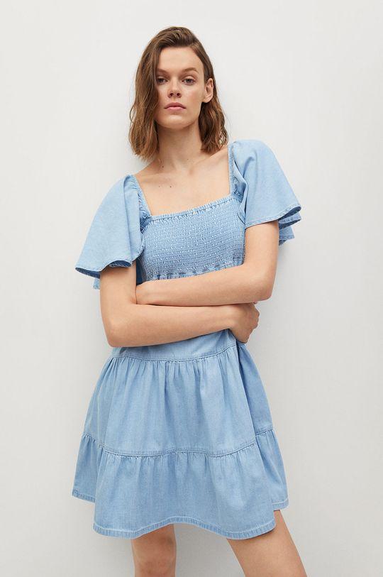 niebieski Mango - Sukienka DULIPA Damski
