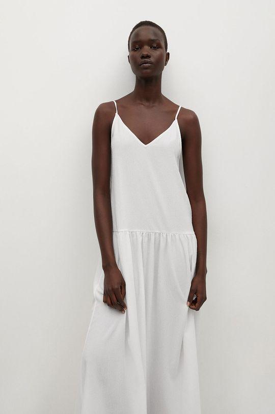 biały Mango - Sukienka SALMA Damski