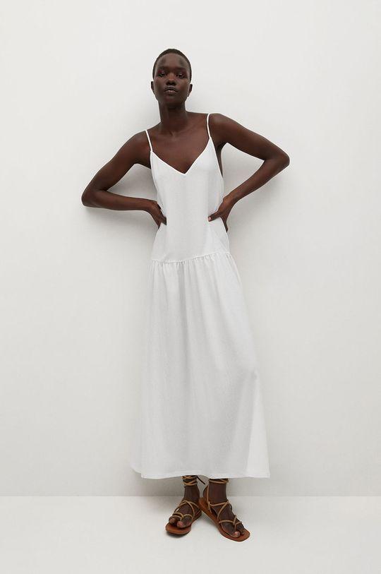 Mango - Sukienka SALMA biały
