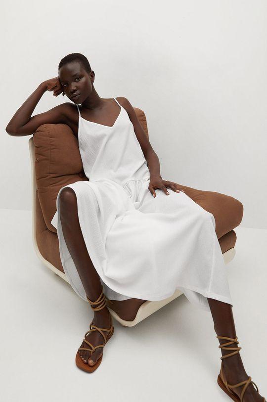 biały Mango - Sukienka SALMA